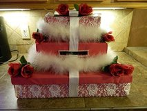 Wedding gift card box in Pasadena, Texas